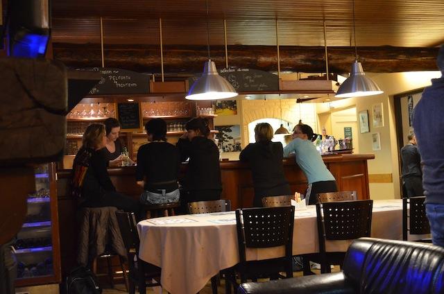 Restaurant Table A Pizza Mulhouse