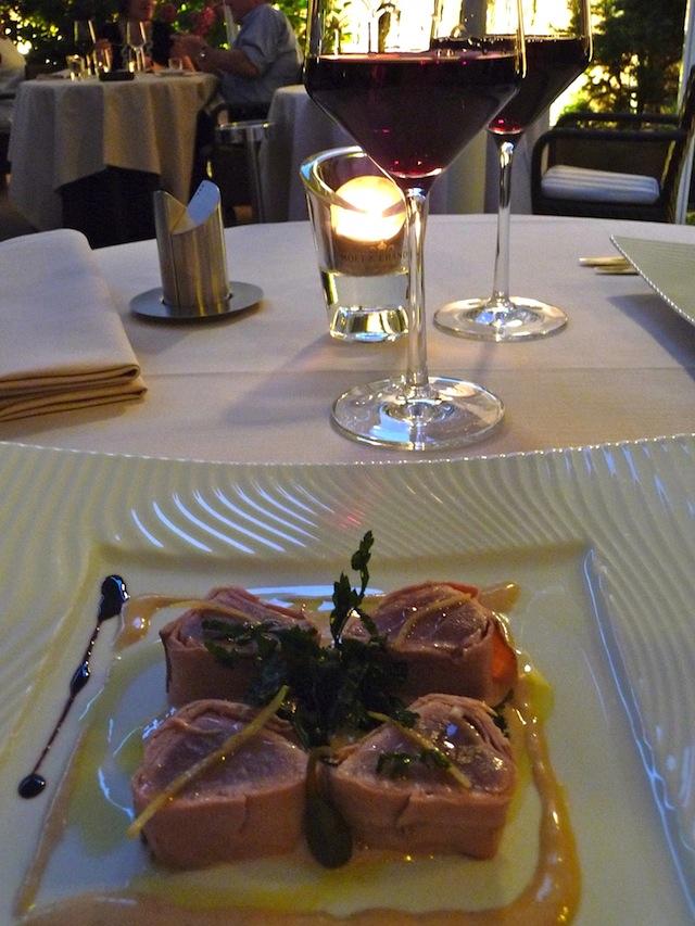 Il Cortile, restaurant étoilé mulhouse
