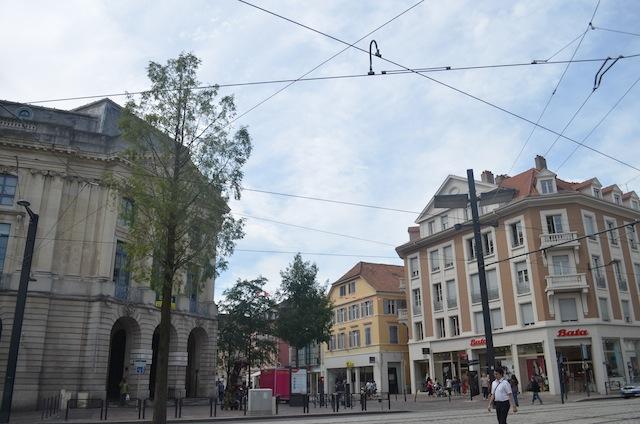 rue piétonne mulhouse