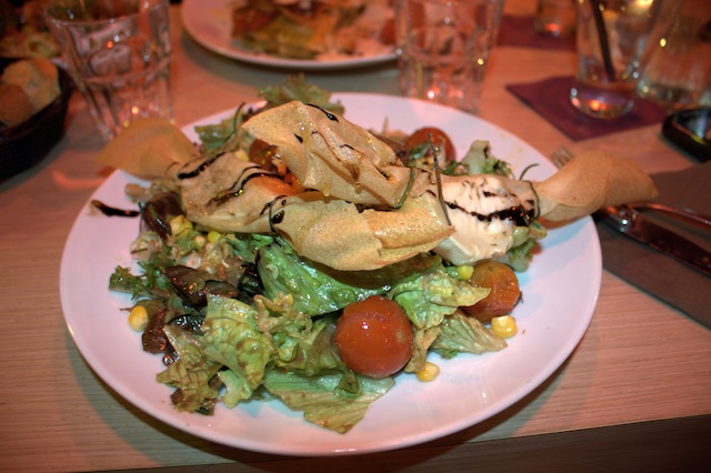 salade chèvre chaud mulhouse