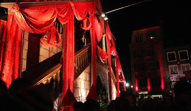 Hotel de ville Mulhouse décoré