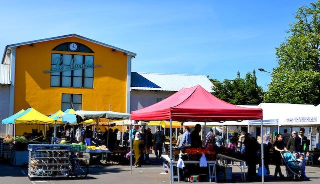 Le marché Canal Couvert - ©Ray Mond pour My Mulhouse