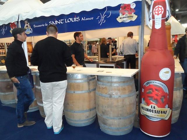 stand de la mulhousienne mondial de la bière