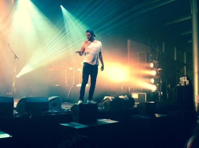 Patrice en concert à Mulhouse