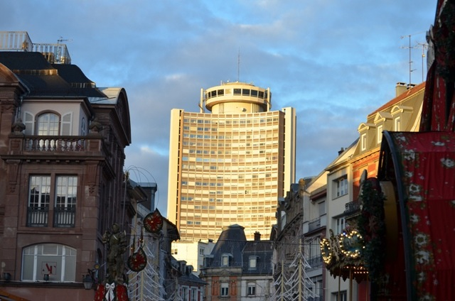 La Tour de l'Europe à Mulhouse