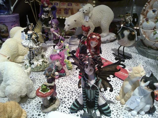 figurine marché de noel