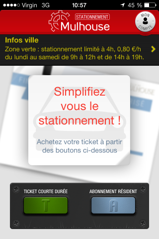 iphone app stationnement mulhouse