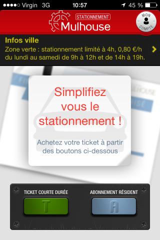 iphone app stationnement mulhouse