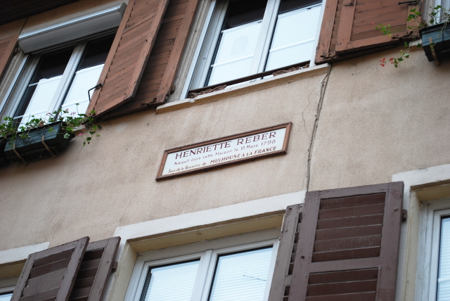 henriette reber rue mulhouse