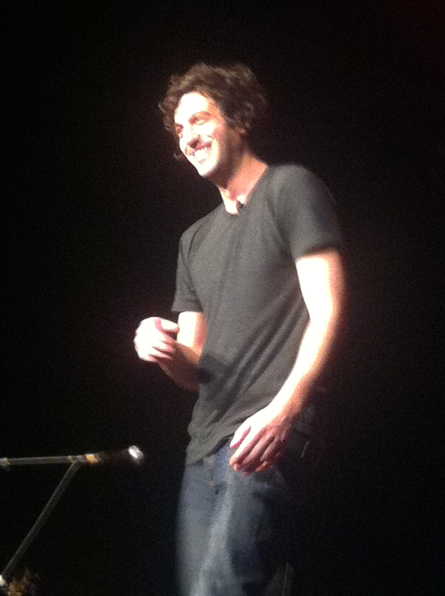 max boublil rodage spectacle entrepot