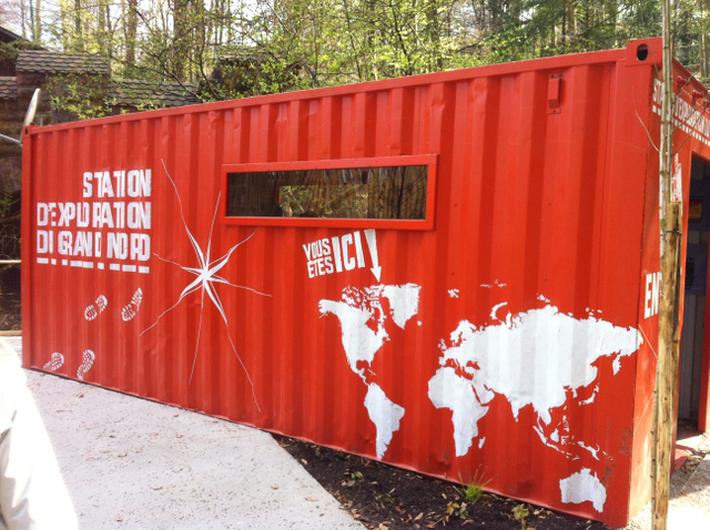 Le nouvel espace grand nord du zoo de Mulhouse