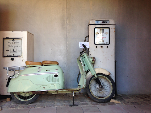 vieille moto