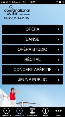 application smartphone opéra national du rhin onr