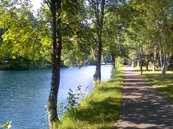 Promenade au Nouveau Bassin - © My-Mulhouse.fr