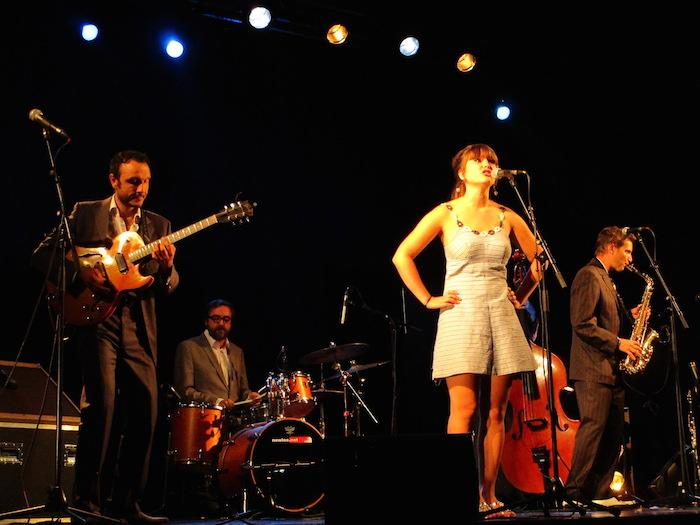 ellen birath band en concert à Pfastatt