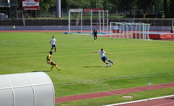 un joueur du FC Mulhouse