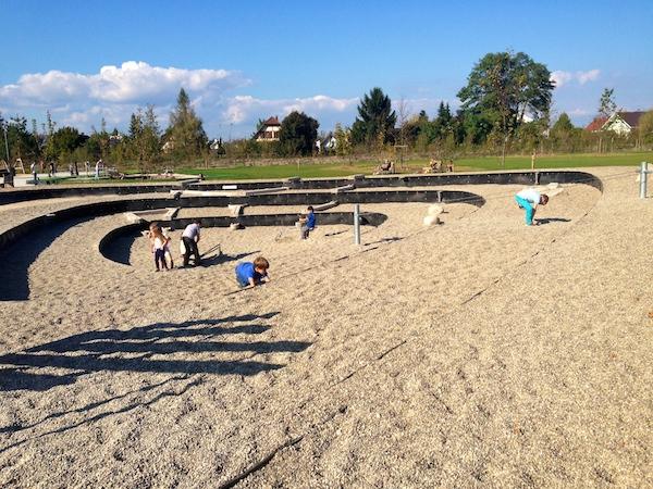 aire de jeux parc des gravières kingersheim