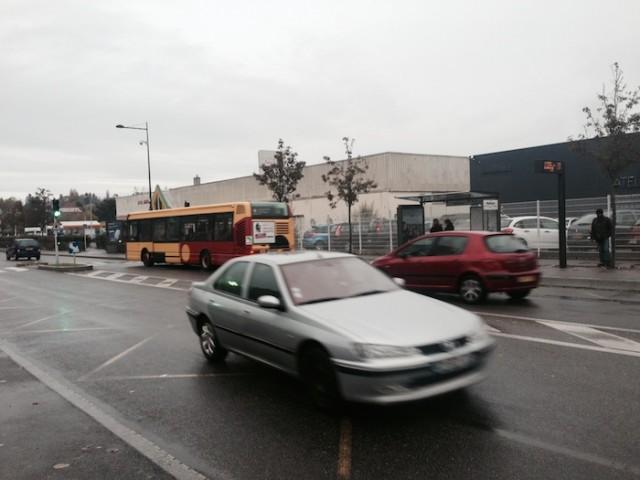 voiture ou bus à Mulhouse