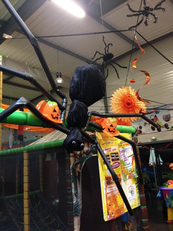 décoration d'halloween chez Okidok à Kingersheim