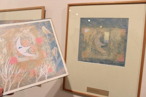 Le livre à gauche, et la création originale à droite - © My-Mulhouse.fr