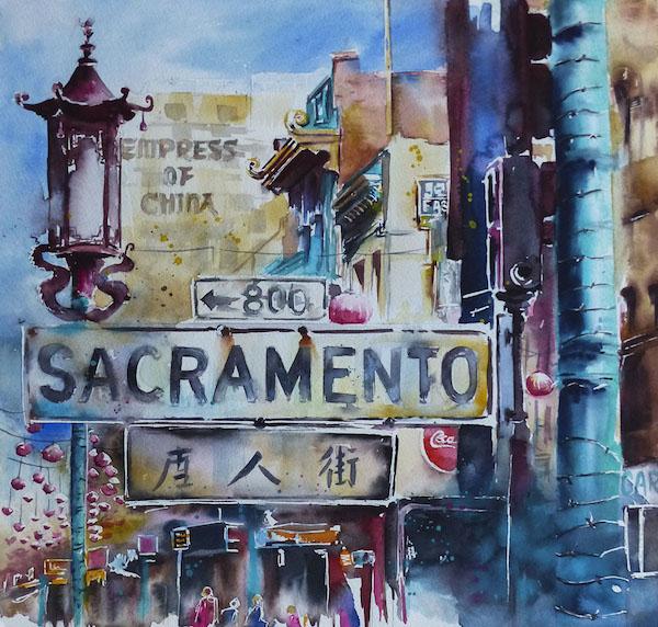 Sacramento © Elena Blondeau
