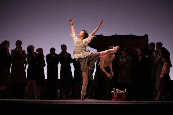 Anna Ishii dans le rôle de Gelsomnia - © Jean-Luc Tanghe