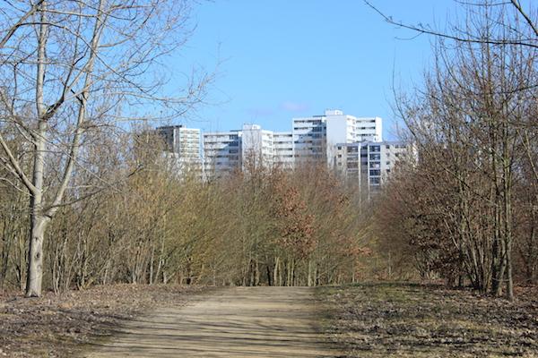 Vue sur le quartier des Coteaux - © My-Mulhouse.fr