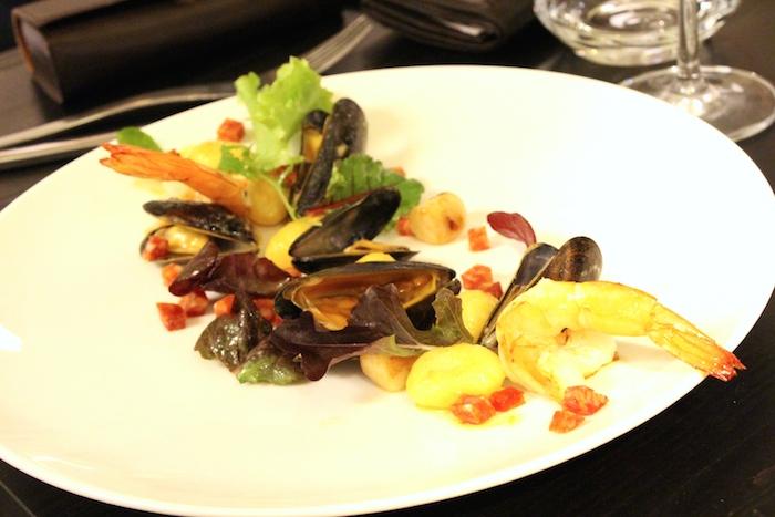 L'entrée fruits de mer gnocchis ©My-Mulhouse.fr
