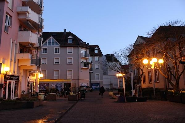 La nuit tombe... un peu plus tard depuis le changement d'heure - © My-Mulhouse.fr