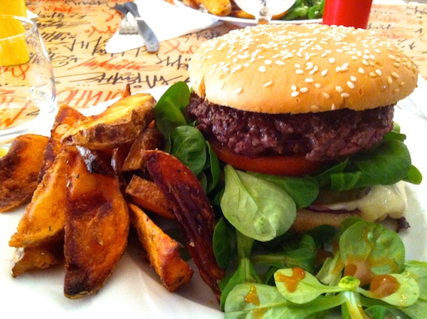 "Mon burger ""primaire"" ©My-Mulhouse.fr"