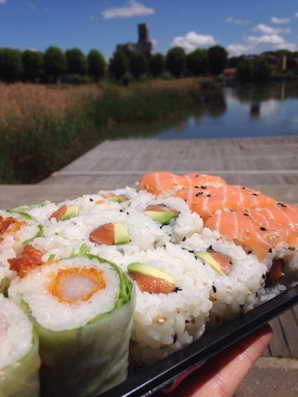 Un beau plateau de makis et de sushis du Kanzaki -© My-Mulhouse.fr