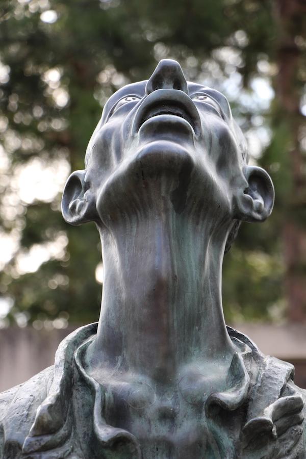 La statue du mémorial de Tambow © My-Mulhouse.fr