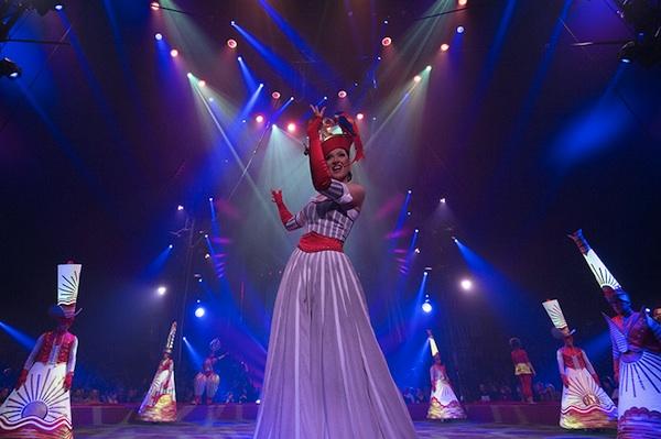 La parade...le spectacle peut commencer ! © Cirque Gruss