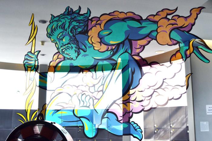 L'anamorphose de Zeus - © My-Mulhouse.fr