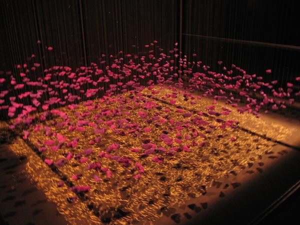 une oeuvre d'anne-marie ambiehl à l'exposition déc'or mulhouse