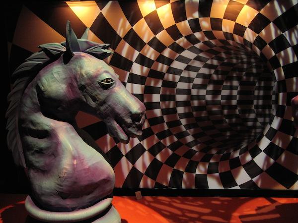 jeu d'échec à l'exposition déc'or de la foir expo 2015