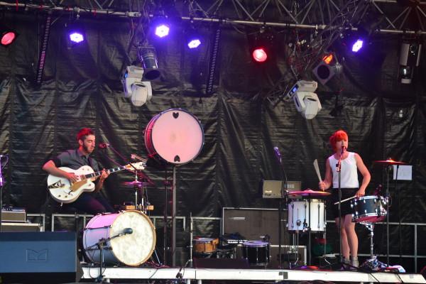 Les Catfish sur scène font le show ! - © My-Mulhouse.fr