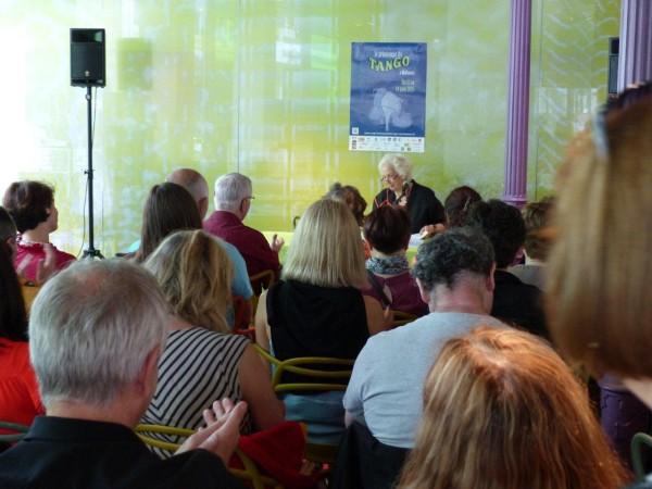 Un public très attentif pour Susana Rinaldi ! - © OTC Mulhouse et sa région pour My-Mulhouse.fr