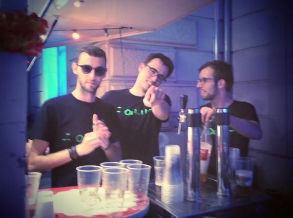 L'équipe d'Eponyme est là pour nous faire passer une super soirée ! - © My-Mulhouse.fr