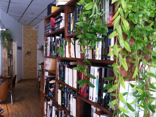 Une bibliothèque pleine de polars, j'adore ! - © My-Mulhouse.fr