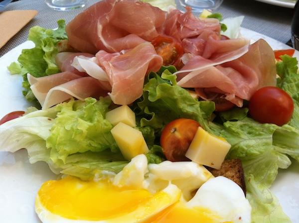 Une salade sympa quand il fait chaud - © My-Mulhouse.fr
