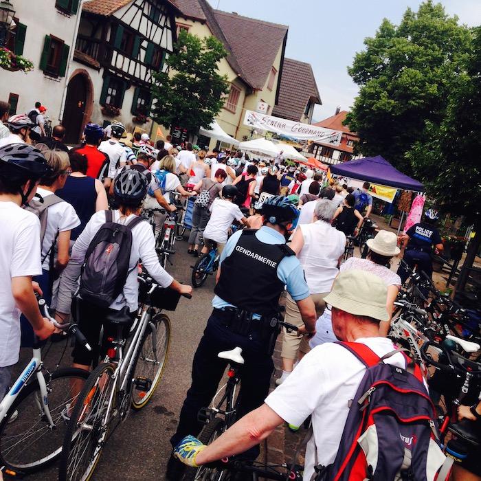 Beaucoup de cyclistes au rendez-vous ! - © My-Mulhouse.fr