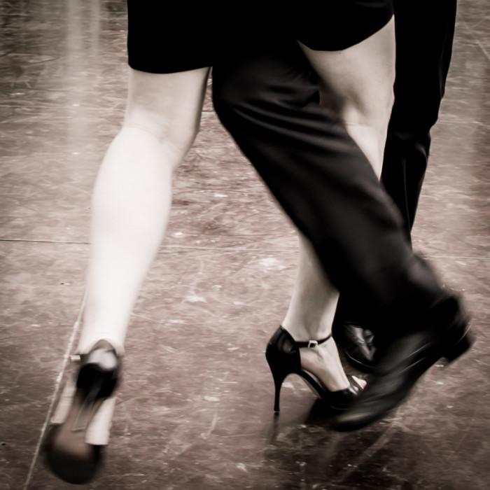 Le tango, une danse de couple qui demande de la concentration... - © Yves Wodey pour My-Mulhouse.fr