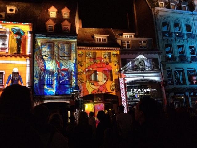 Les Nuits Rouges à Mulhouse - Spectacle Son & Lumières