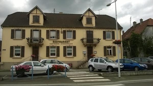 Le restaurant La Couronne à Carspach, c'est bien ici ! -© My-Mulhouse.fr
