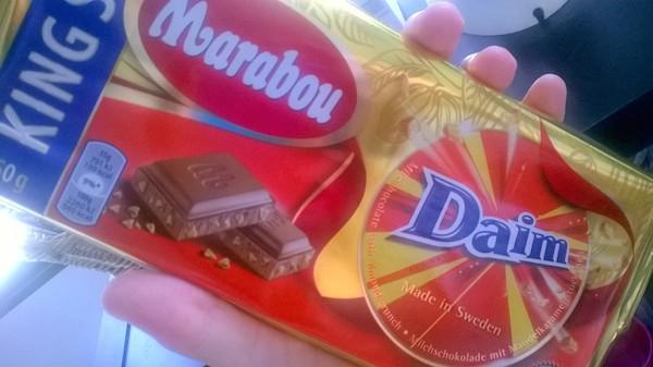 Oui, on n'a que ça à faire, acheter du chocolat chez IKEA... :p - © My-Mulhouse.fr