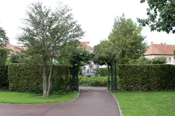 L'une des entrées du parc - © My-Mulhouse.fr