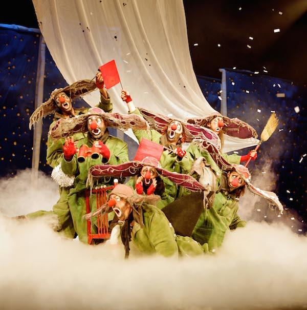 4 places à gagner pour Slava's Snowshow dimanche 6 décembre à 18h à la Filature. - © V Vial