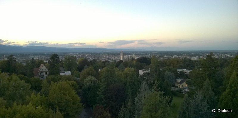 Mulhouse vue de haut