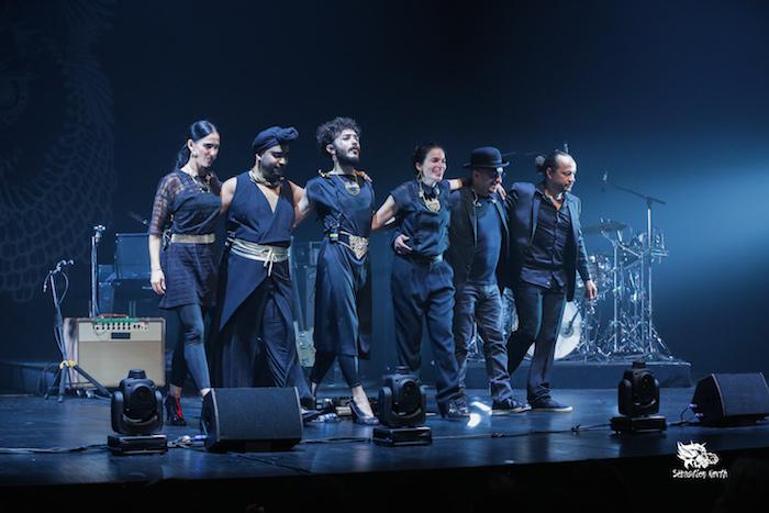 Une très belle prestation de Yael Naim ce soir-là à la Filature © Sébastien North